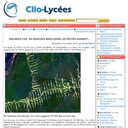 Séquence TICE: En Amazonie brésilienne, les routes gagnent... - Clio-Lycée