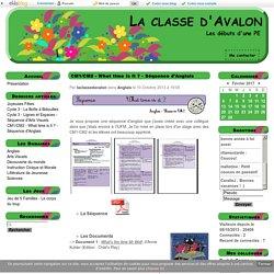 CM1/CM2 - What time is it ? - Séquence d'Anglais - La classe d'Avalon