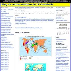 Séquence II Le premier empire colonial français XVI ème– XVIIIème siècle - Blog de Lettres-Histoire du LP Costebelle