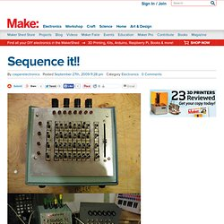 Make: Online : Sequence it!!