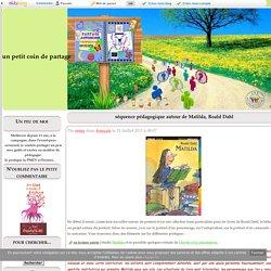 séquence pédagogique autour de Matilda, Roald Dahl