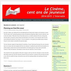 Le Cinéma, cent ans de jeunesse 2014-2015