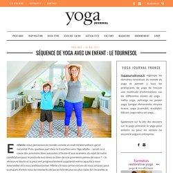 Séquence de Yoga avec un enfant : Le Tournesol
