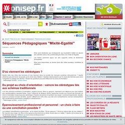 """Séquences Pédagogiques """"Mixité-Egalité"""""""