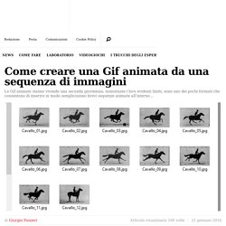 Come creare una Gif animata da una sequenza di immagini - PC Professionale