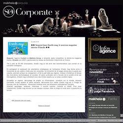 ★★ Sequoia Lance Enedis Mag, Le Nouveau Magazine Interne D'Enedis ★★