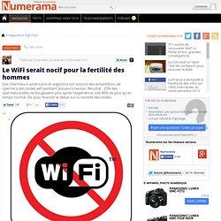 Le WiFi serait nocif pour la fertilité des hommes