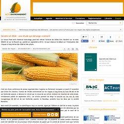 Séralini et OGM : une étude qui dérange vraiment