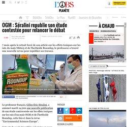OGM : Séralini republie son étude contestée pour relancer le débat