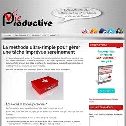 Site - pour une vie plus 'productive'