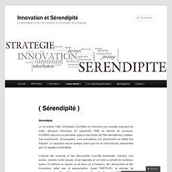 Innovation et Sérendipité