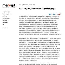 Sérendipité, innovation et prototypage - Namoroka