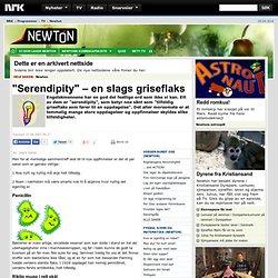 """""""Serendipity"""" – en slags griseflaks - Newton"""