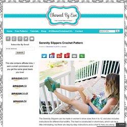 Serenity Slippers Crochet Pattern