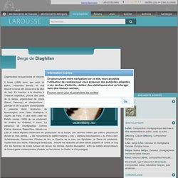 Serge Diaghilev (Larousse)