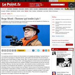 Serge Moati : l'homme qui tombe à pic !