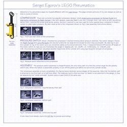 Sergei Egorov's LEGO Pneumatics