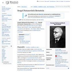 Sergeï Natanovitch Bernstein