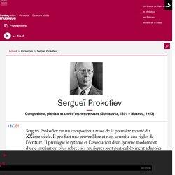 Sergueï Prokofiev - France musique