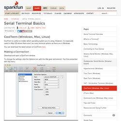 Serial Terminal Basics