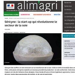 MAAF 21/12/15 Séricyne : la start-up qui révolutionne le secteur de la soie
