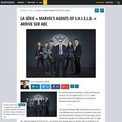 """La série """"Marvel's Agents of S.H.I.E.L.D."""" arrive sur ABC"""