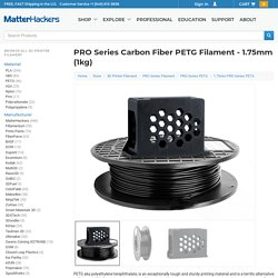 PRO Series Carbon Fiber PETG Filament - 1.75mm (1kg)