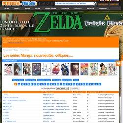 liste des séries manga