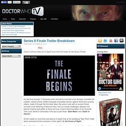 Doctor Who Series 8 Finale Trailer Breakdown