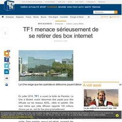 TF1 menace sérieusement de se retirer des box internet