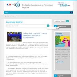 Lucie exploration fonds marins/ énergies renouvelables Jeu sérieux Seatcher - Jeux sérieux - Innover avec le numérique - DANE Nice