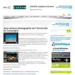 Jeux-sérieux de l'Université de Compiègne