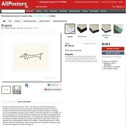 El perro Serigrafía por Pablo Picasso en AllPosters.es