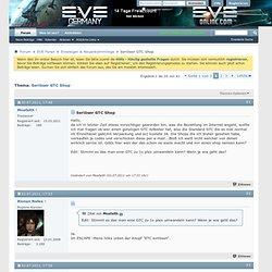 Seriöser GTC Shop - EVE Online