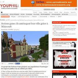 Serious game: ils aménagent leur ville grâce à Minecraft