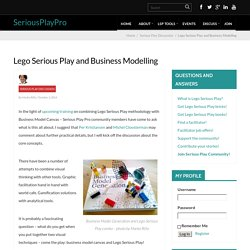 Lego Serious Play and Business Modelling