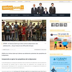 Un Serious Game qui lutte contre la dépression des adolescents