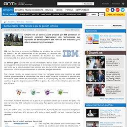 Serious Game : IBM dévoile le jeu de gestion CityOne