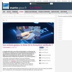 Les serious games, le futur de la formation médicale ?