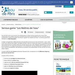 "Serious game ""Les Maîtres de l'eau"""