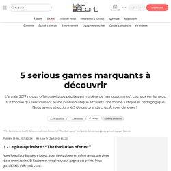 5 serious games marquants à découvrir