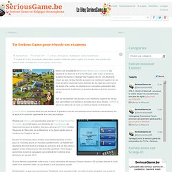 Blog SeriousGame.be