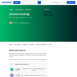 Serious Gaming - Erasmus University Rotterdam