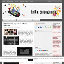 SeriousGame.be – Page 5 – Le Serious Game en Belgique francophone
