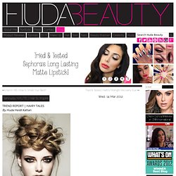 Seriously HAUTE | Hair to Inspire & huda beauty