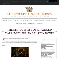 The Seriousness of Arranged Marriages: No Jane Austen Novel