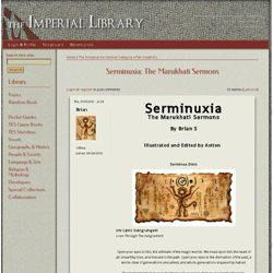 Serminuxia: The Marukhati Sermons