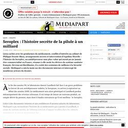 Seroplex : l'histoire secrète de la pilule à un milliard