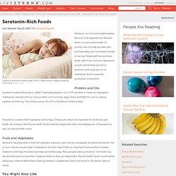 Foods Stimulating Serotonin Production