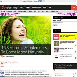 15 Serotonin Supplements To Boost Mood Naturally